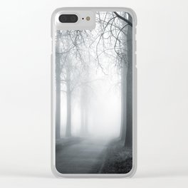 Mist and Mystery Clear iPhone Case