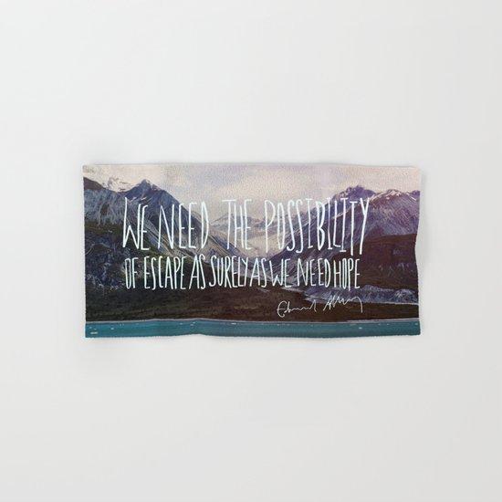 Escape x Alaska Hand & Bath Towel
