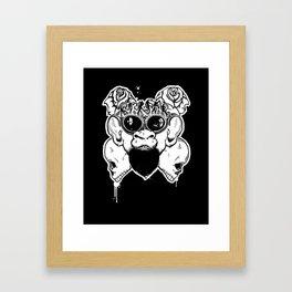 Rock Out Monkey Boy Framed Art Print