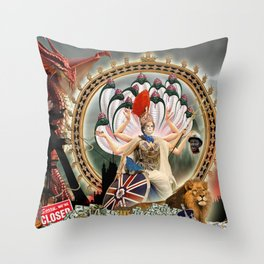 Sorry we are closed Throw Pillow