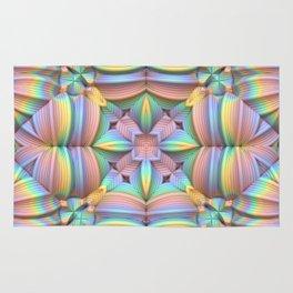 Symmetry in Pastels Rug