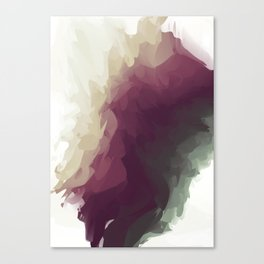 Grapes and the Vineyard Canvas Print