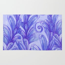 Violet Garden Rug