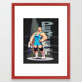 Mr Perfect Framed Art Print