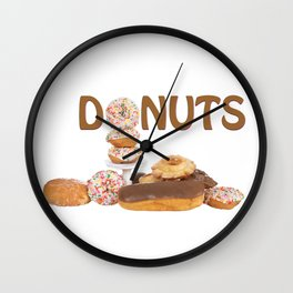Delightful Donuts Wall Clock