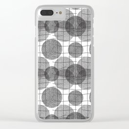 Circulation Clear iPhone Case