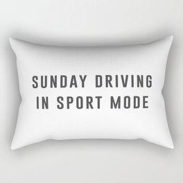 Sunday Driving Rectangular Pillow