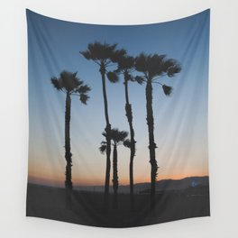 Sunset on the Beach Wall Tapestry