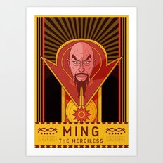 MING THE MERCILESS Art Print