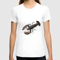 lobster T-shirts featuring Lobster by Trinity Mitchell