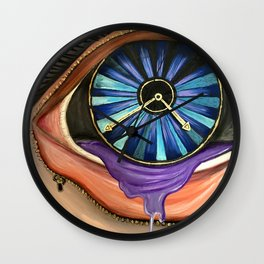 Open Your Eyes Wall Clock