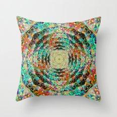 Aura Ocean Throw Pillow