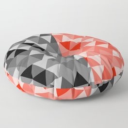 triangle designs Floor Pillow