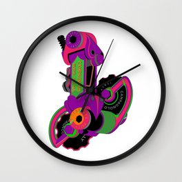 The World's Most Famous 70's Derailleur, One Cool Cat Wall Clock