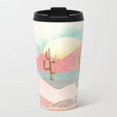 Desert Mountains Metal Travel Mug
