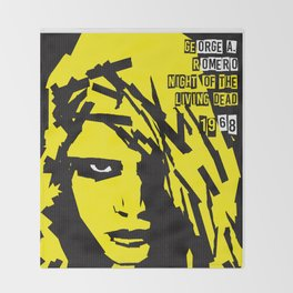 George A. Romero Series :: Night of the Living Dead Throw Blanket