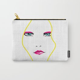 Blondie Hot Pink Carry-All Pouch