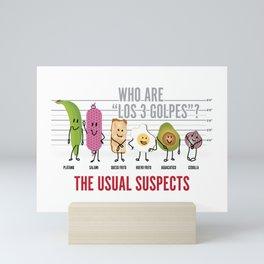 The Usual Suspects - Dominican Breakfast crew Mini Art Print