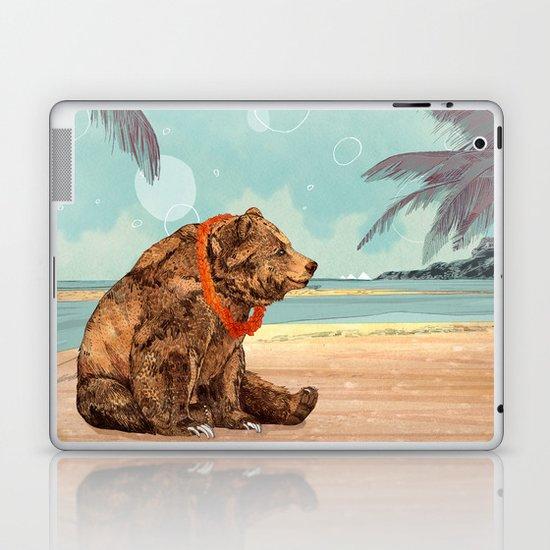 Beach Bear Laptop & iPad Skin