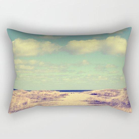 Beach whisper Impression Rectangular Pillow