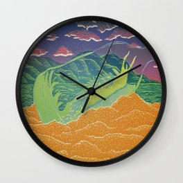 Santa Cruz Nudibranch Wall Clock