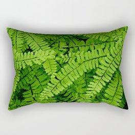 Maidenhair Fern (Adiantum pedatum) Rectangular Pillow