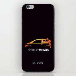 Retour vers le futur - Twingo iPhone Skin
