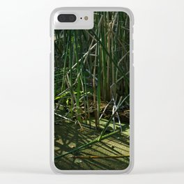 Swamp Thing Clear iPhone Case
