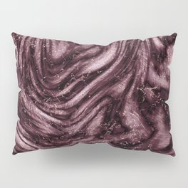 Rosewood velvet gem Pillow Sham