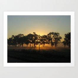 Sunrise Whispers Art Print