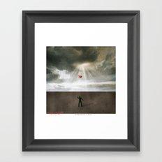 Goodbye Love Framed Art Print