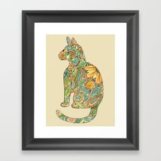 Calico Cat Framed Art Print