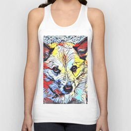 Color Kick - Dog (R) Unisex Tank Top