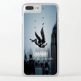 Fallen Angel Stay Clear iPhone Case