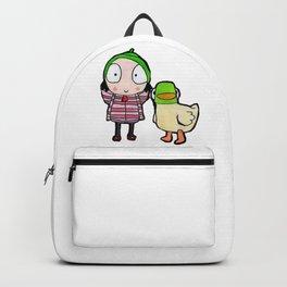 Sarah & Duck Backpack
