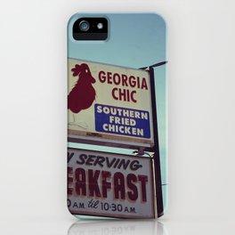 Georgia Chic iPhone Case