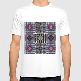 Indian patchwork 14 T-shirt