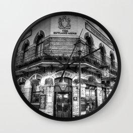 The Rutland Arms London Wall Clock