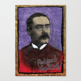 Rudyard Kipling Canvas Print