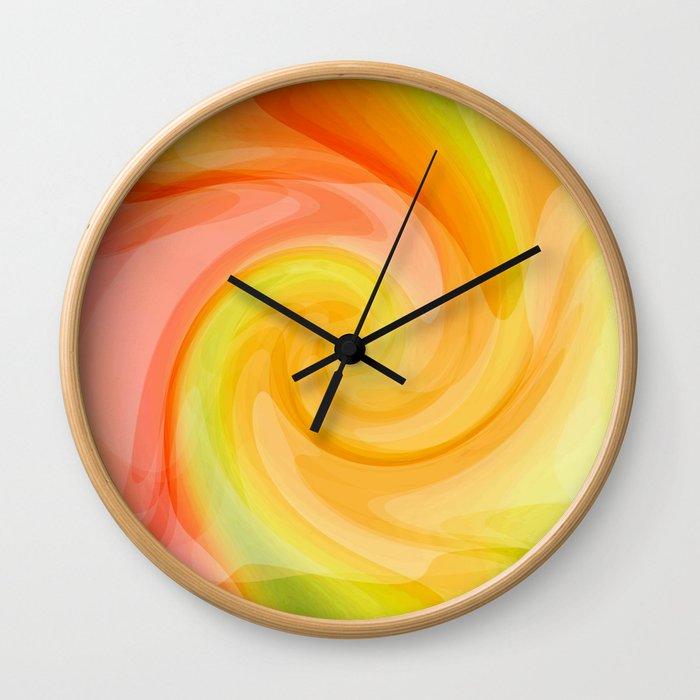 Birth of a Fresh New Day Wall Clock