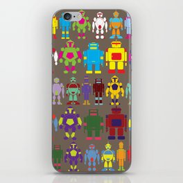 Robot Army iPhone Skin