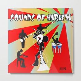 Sounds Of Harlem  Metal Print