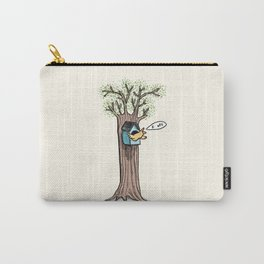 Rude Bird Carry-All Pouch