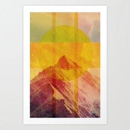 Geometric Composition 6 Art Print