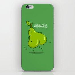 One sASSy pear! iPhone Skin