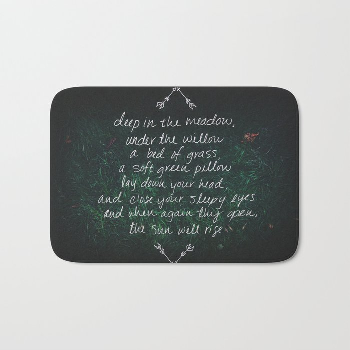 Rue's Song Bath Mat