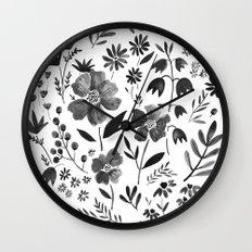 GARDEN GRAY Wall Clock