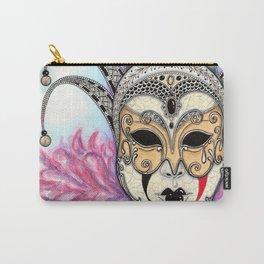 Máscara Veneciana Carry-All Pouch