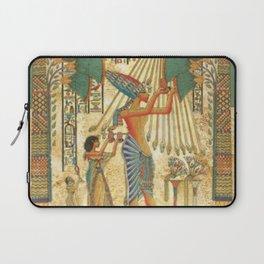 egyptian man sun god ra amun Laptop Sleeve