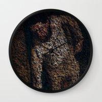 degas Wall Clocks featuring Figure by Stephen Linhart